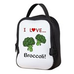 I Love Broccoli Neoprene Lunch Bag