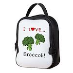 I Love Broccoli Neoprene Lunch Bag