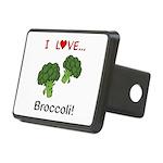 I Love Broccoli Rectangular Hitch Cover