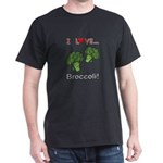 I Love Broccoli Dark T-Shirt