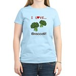 I Love Broccoli Women's Light T-Shirt