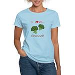 I Love Broccoli Women's Light T-Shirt