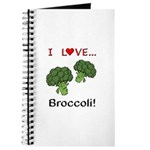 I Love Broccoli Journal