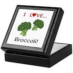I Love Broccoli Keepsake Box