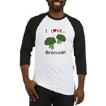 I Love Broccoli Baseball Jersey