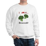I Love Broccoli Sweatshirt