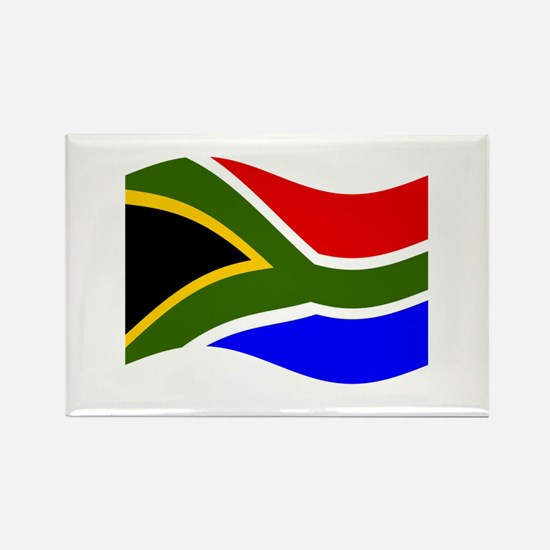 Waving South Africa Flag Magnets