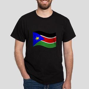 Waving South Sudan Flag T-Shirt