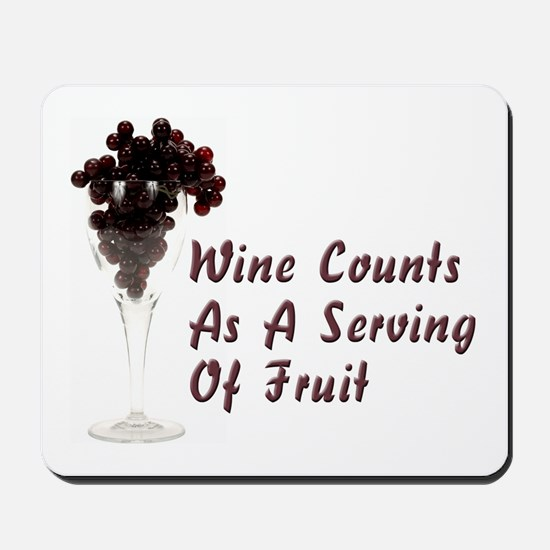 Wine Diet Mousepad