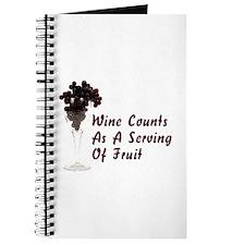 Wine Diet Journal
