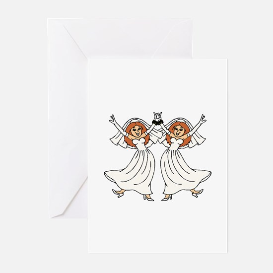 Lesbian Wedding Greeting Cards (Pk of 10)