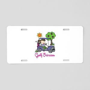 Golf Princess Aluminum License Plate