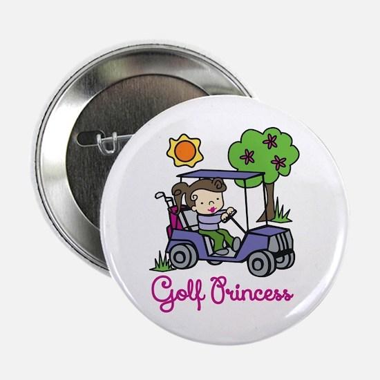 "Golf Princess 2.25"" Button"