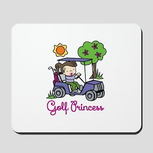 Golf Princess Mousepad