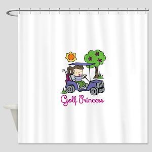 Golf Princess Shower Curtain