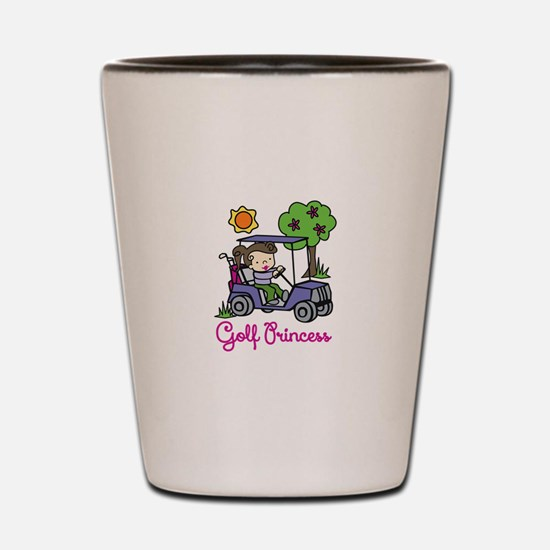 Golf Princess Shot Glass