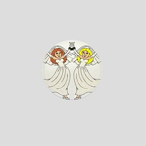 Lesbian Wedding 2 Mini Button