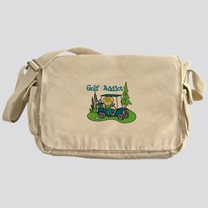 Golf Addict Messenger Bag