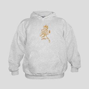 Golden Gingka- Full Kids Hoodie