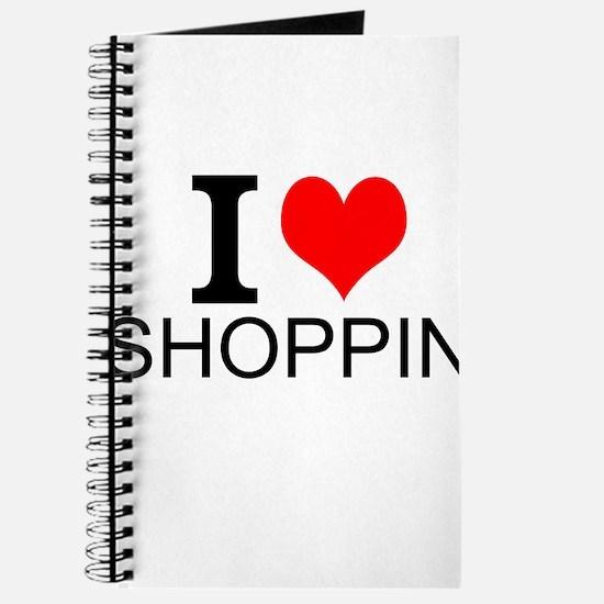 I Love Shopping Journal