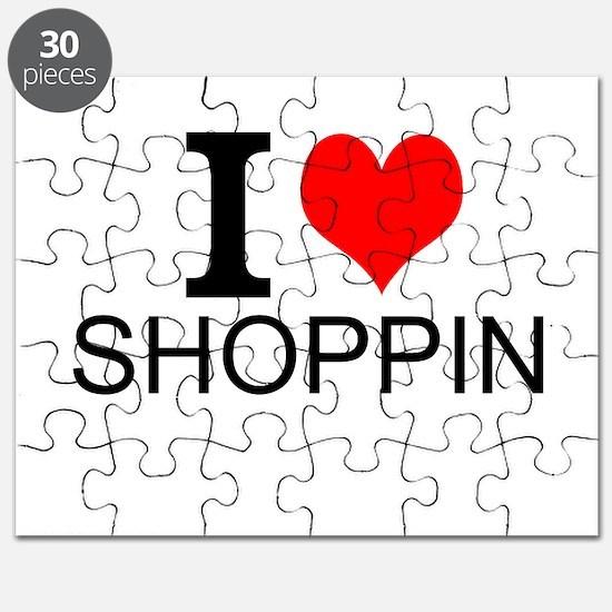 I Love Shopping Puzzle