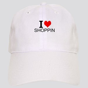 I Love Shopping Baseball Cap