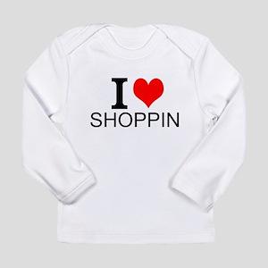 I Love Shopping Long Sleeve T-Shirt