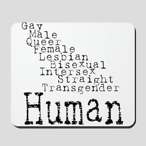 Human Mousepad