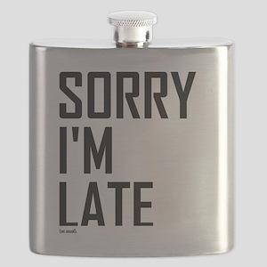 Sorry I'm Late Flask