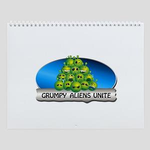 Punny Alien Wall Calendar