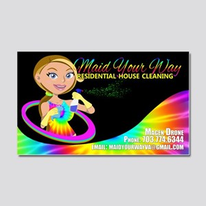 Maid Your Way Residential House Car Magnet 20 X 12