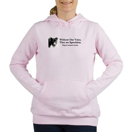 Without Our Voice Women's Hooded Sweatshirt
