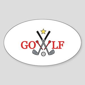 Golf Sport Sticker