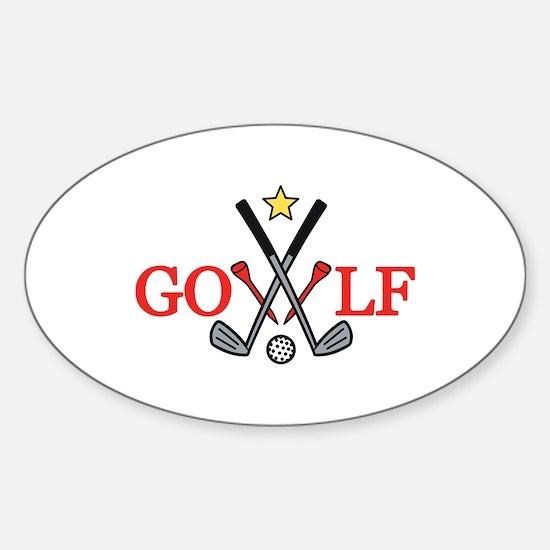 Golf Sport Decal