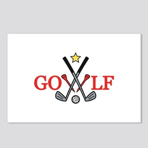 Golf Sport Postcards (Package of 8)