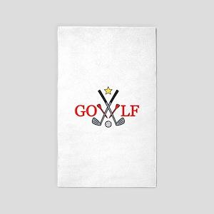 Golf Sport 3'x5' Area Rug
