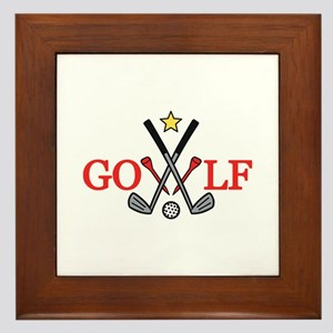 Golf Sport Framed Tile
