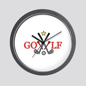 Golf Sport Wall Clock