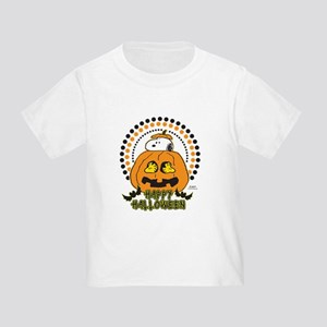 Snoopy and Woodstock Pumpkin Toddler T-Shirt