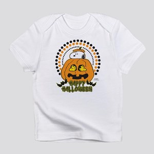 Snoopy and Woodstock Pumpkin Infant T-Shirt