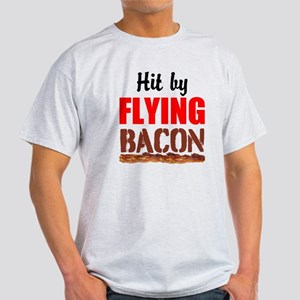 Hit By Flying Bacon T-Shirt