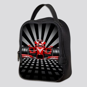 Formula 1 Red Race Car Neoprene Lunch Bag