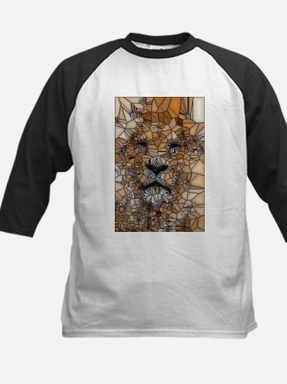 Lion mosaic 001 Baseball Jersey
