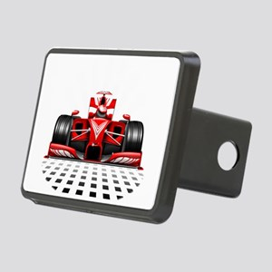 Formula 1 Red Race Car Hitch Cover