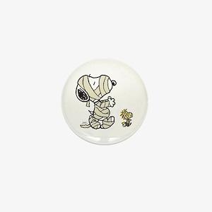 Mummy Snoopy Mini Button