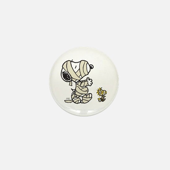 Mummy Snoopy Mini Button
