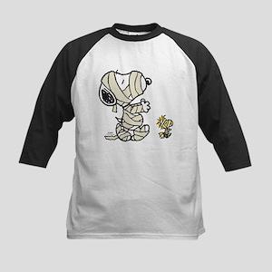 Mummy Snoopy Kids Baseball Jersey