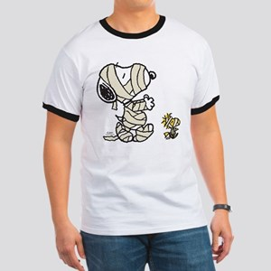 Mummy Snoopy Ringer T