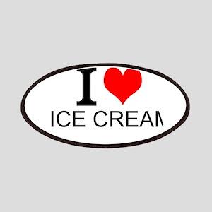 I Love Ice Cream Patches