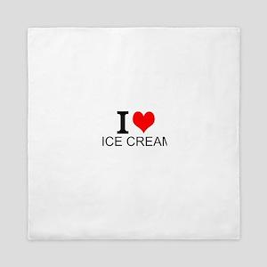 I Love Ice Cream Queen Duvet